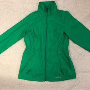 2/$100 NWOT Eddie Bauer Green Packable Windbreaker